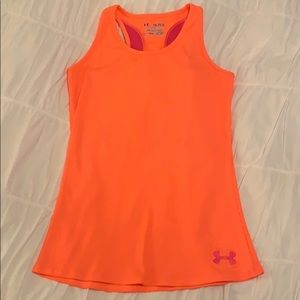 Size youth xl under armour neon tank top